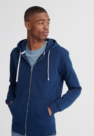STANDARD LABEL - veste en sweat zippée - pilot mid blue