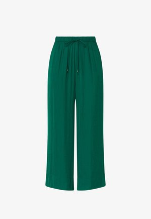 Trousers - evergreen