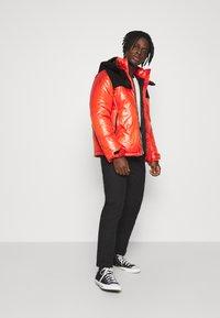 Champion Reverse Weave - HOODED JACKET - Winter jacket - red - 1