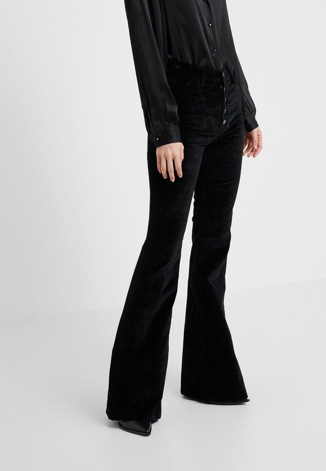 RACHEL FLARE - Pantalon classique - voodoo