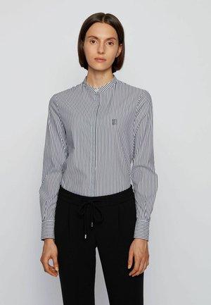 BEFELIZE - Button-down blouse - open blue