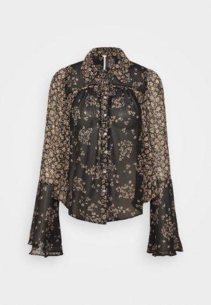 SERENA PRINTED BLOUSE - Camicia - black combo