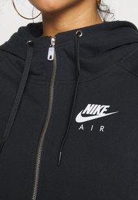 Nike Sportswear - AIR HOODIE PLUS - Zip-up hoodie - black - 5