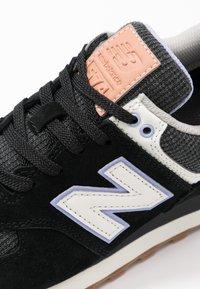 New Balance - WL574 - Sneakersy niskie - black - 2