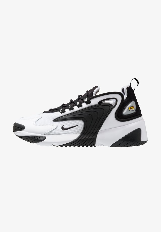 ZOOM  - Sneakers laag - white/black
