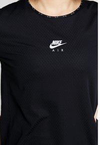 Nike Performance - AIR TOP - Triko spotiskem - black - 4