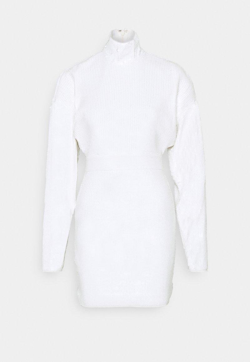 Hervé Léger - Koktejlové šaty/ šaty na párty - alabaster