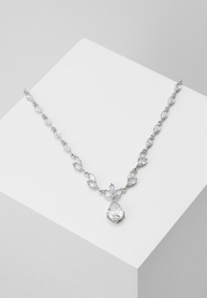 ONLFINE NECKLACE - Ketting - silver-coloured/clear