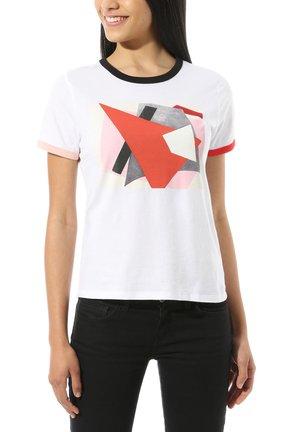 WM VANS X MOMA POPOVA TEE - Print T-shirt - (moma) lyubov popova