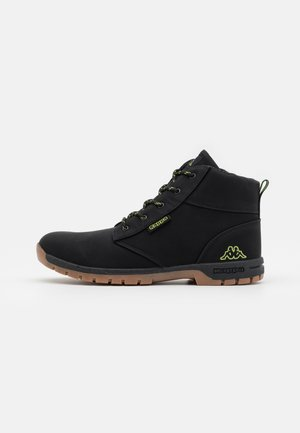 CAMMY UNISEX - Vysoká chodecká obuv - black/lime
