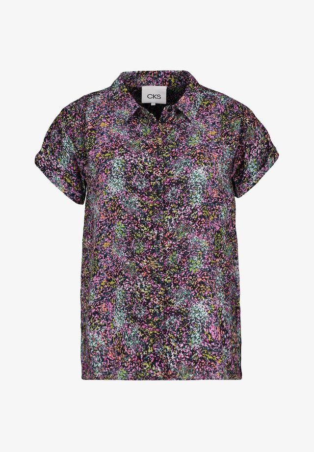 LANDRY - Button-down blouse - dark grey