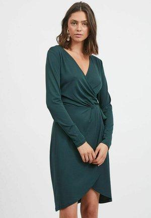 Jersey dress - darkest spruce