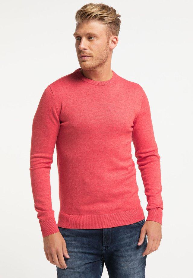 Jersey de punto - bright salmon