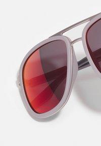 Prada Linea Rossa - Solglasögon - matte silver-coloured/ice rubber - 4