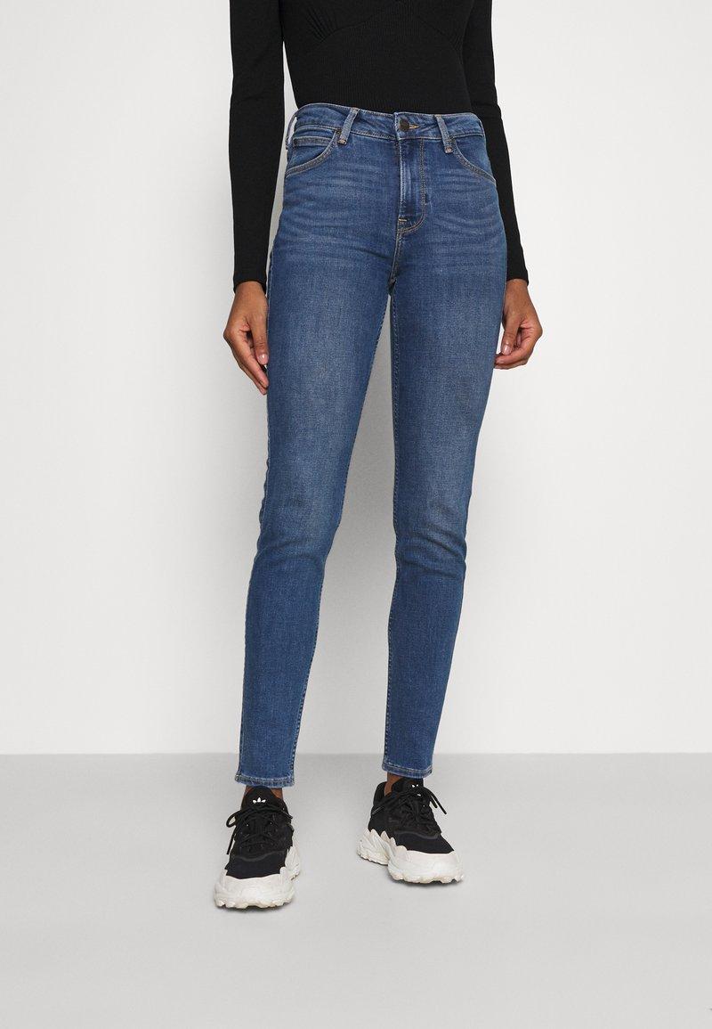 Lee - SCARLETT HIGH - Jeans Skinny Fit - mid worn martha