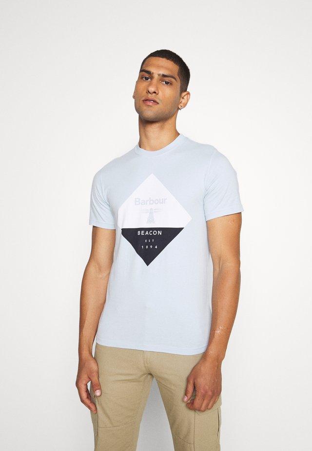DIAMOND TEE - T-shirt print - pale sky