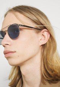 Mont Blanc - Sunglasses - ruthenium/havana/blue - 1