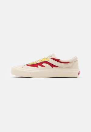 BOLD UNISEX - Sneakers laag - antique white/red