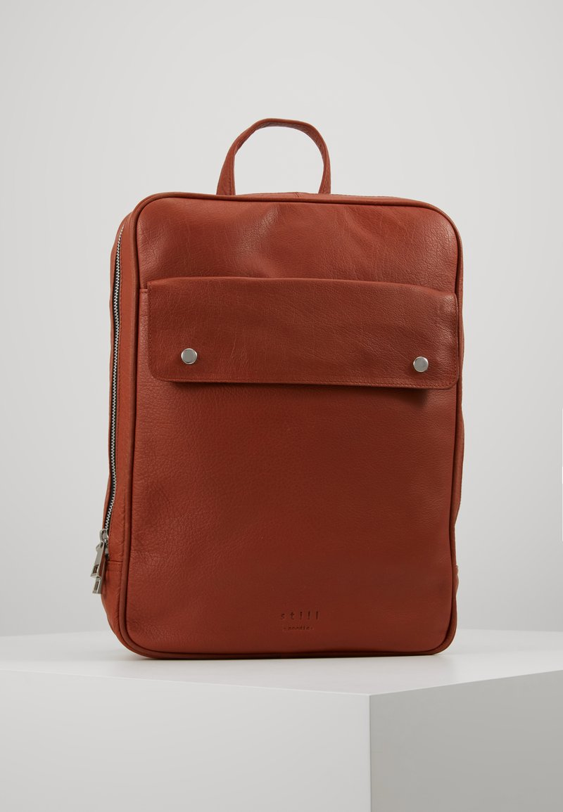 Still Nordic - THOR BACKPACK - Reppu - cognac