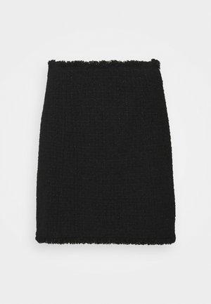 PALAGANO - Mini skirt - black