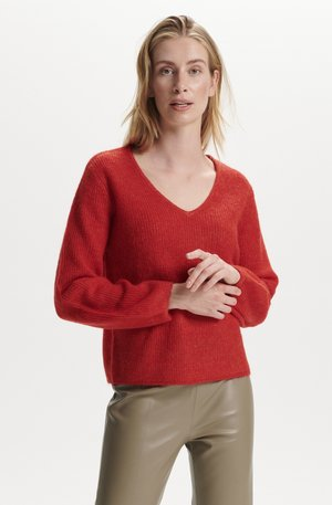 SOAKED IN LUXURY - Maglione - valiant poppy