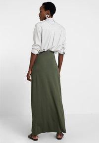 Anna Field - Maxi skirt - olive night - 2
