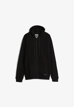 PLÜSCHJACKE - Zip-up hoodie - black