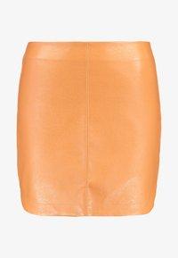 SKIRT - Mini skirt - rust
