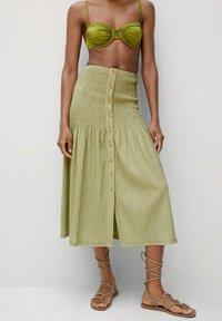 Mango - A-line skirt - vert - 0