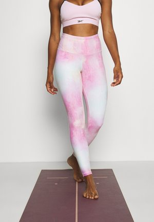 DISTORTED FILM - Legging - frost berry