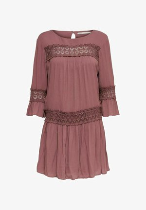 Day dress - rose brown