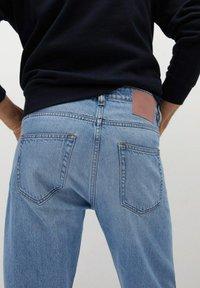 Mango - BOB - Jeans a sigaretta - hellblau - 4