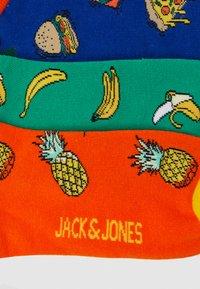 Jack & Jones - JACFOOD SHORT SOCK 5 PACK - Socquettes - surf the web/blarney - 1