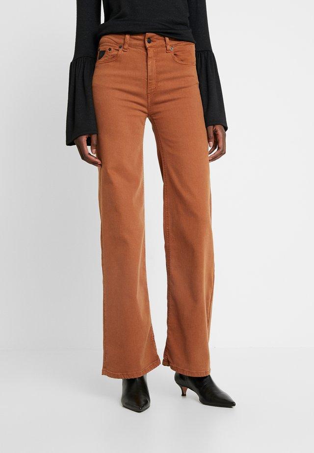 PALAZZO - Jeans a zampa - glazed ginger