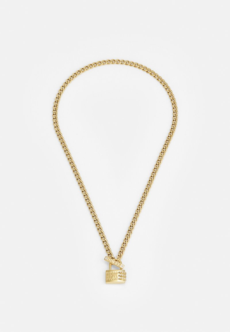 Guess - LOCK ME UP - Necklace - gold-coloured