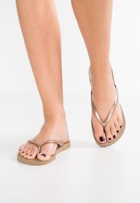 Havaianas - SLIM FIT - Pool shoes - rose gold - 3