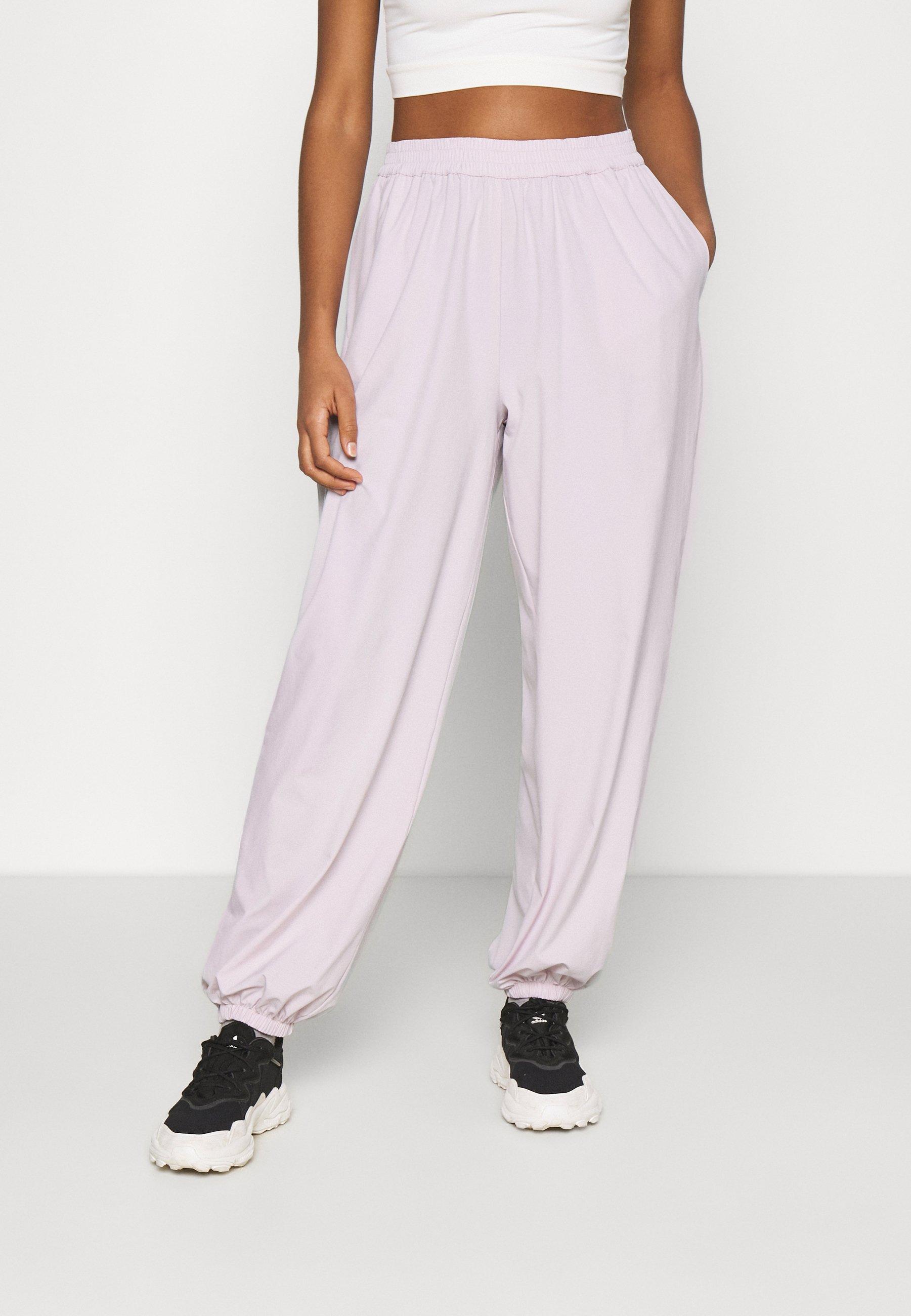 Women NA-KD X ZALANDO EXCLUSIVE - SPORTY FABRIC PANTS - Tracksuit bottoms