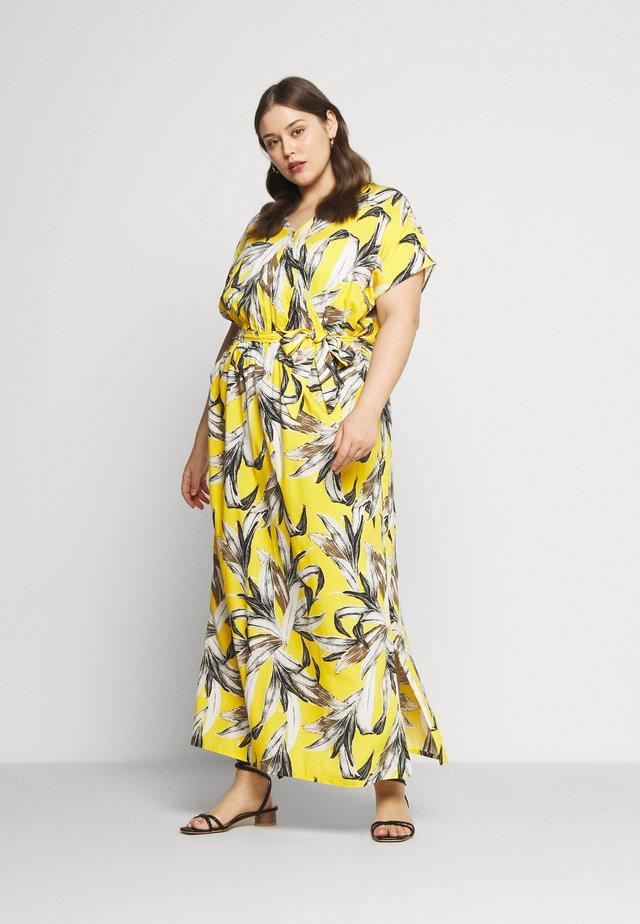 ELLY DRESS - Maxi dress - golden rod