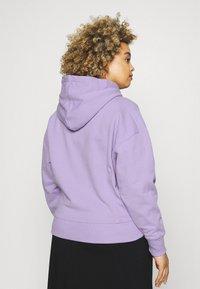 Calvin Klein Jeans Plus - PLUS MICRO BRANDING HOODIE - Hoodie - palma lilac - 2