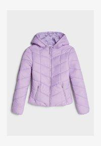 Bershka - Winter jacket - mauve - 4