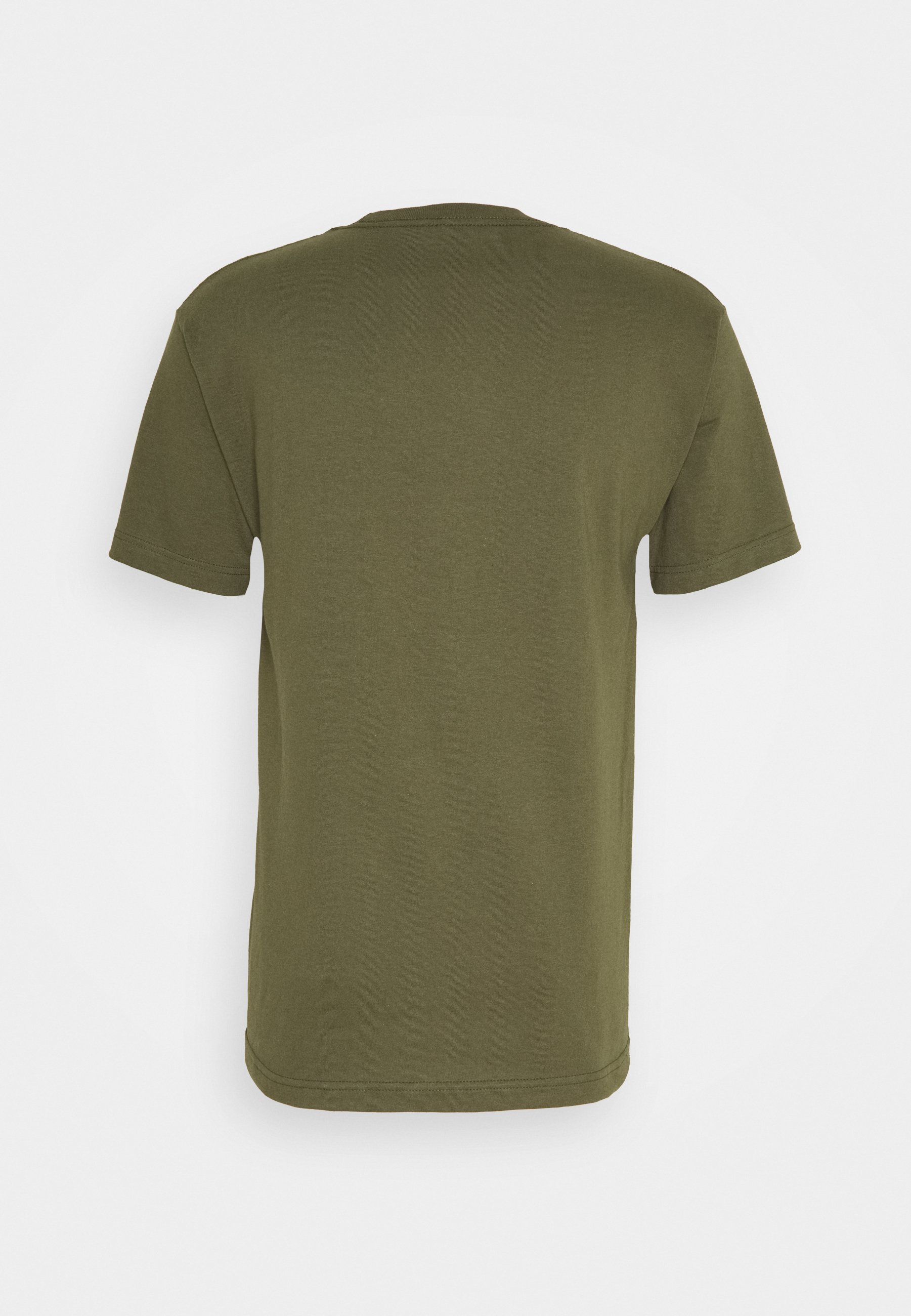 Primitive Warrior Tee - T-shirts Med Print Military Green