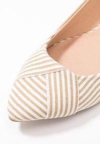 Anna Field - Ballerinasko - beige - 2