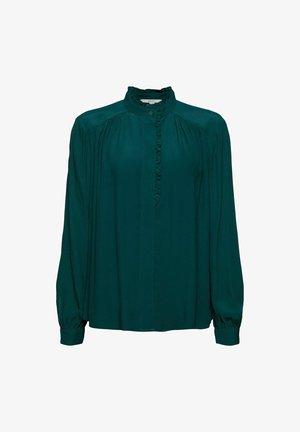 Overhemdblouse - teal green