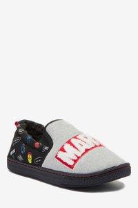 Next - MARVEL SLIPPERS - Slippers - grey - 2