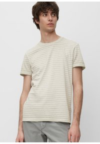 Marc O'Polo - T-SHIRT, SHORT SLEEVE, ROUND NECK, - Print T-shirt - griffin - 0
