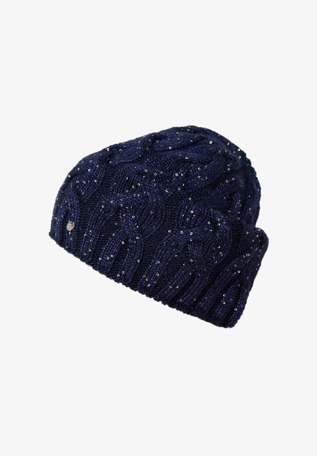 Beanie - dark blue