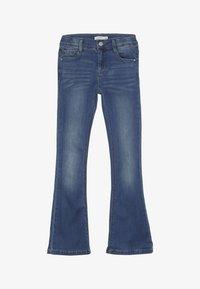 Name it - NKFPOLLY DNMATULLA BOOT PANT - Bootcut jeans - medium blue denim - 2