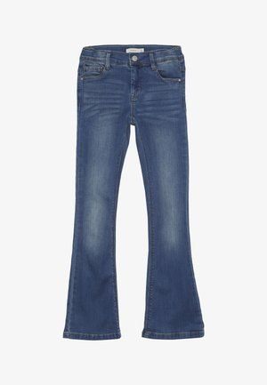 NKFPOLLY DNMATULLA BOOT PANT - Džíny Bootcut - medium blue denim