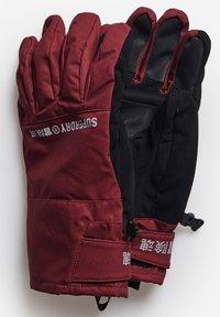 Superdry - Gloves - claret - 1