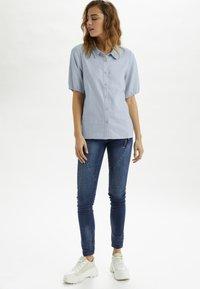 Cream - CRVENTA - Button-down blouse - cashmere blue - 1